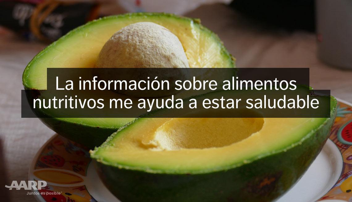item 9 of Gallery image - La información sobre alimentos nutritivos me ayuda a estar saludable