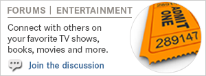 Forums - Entertainment. Image of a ticket