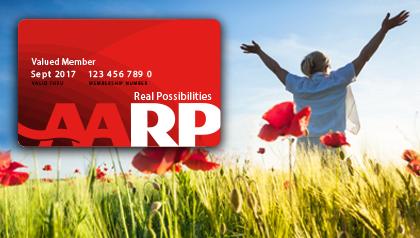 AARP new membership card