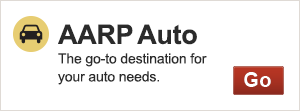AARP Auto - the go-to destination for your auto needs - 300 px size promo