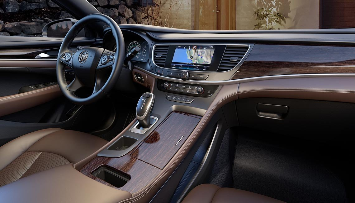 buying a commuter cars -  Buick LaCrosse center console