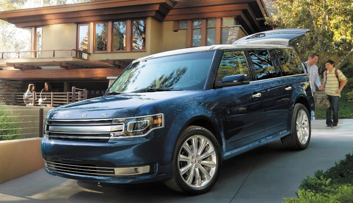 Automóviles para desplazarse al trabajo - Ford Flex