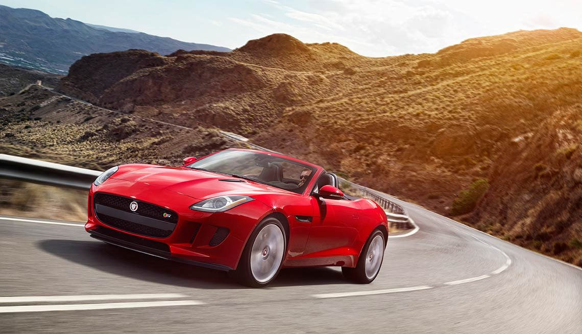 Jaguar F-Type sports car