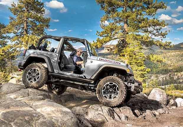 Automóviles que te harán subir la adrenalina - 2016 Jeep Wrangler Rubicon Hard Rock