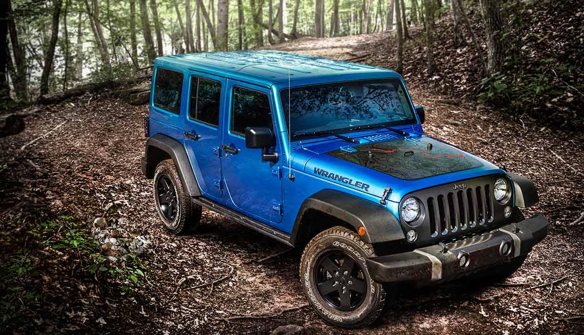 2016 Jeep Wrangler Black Bear Edition.