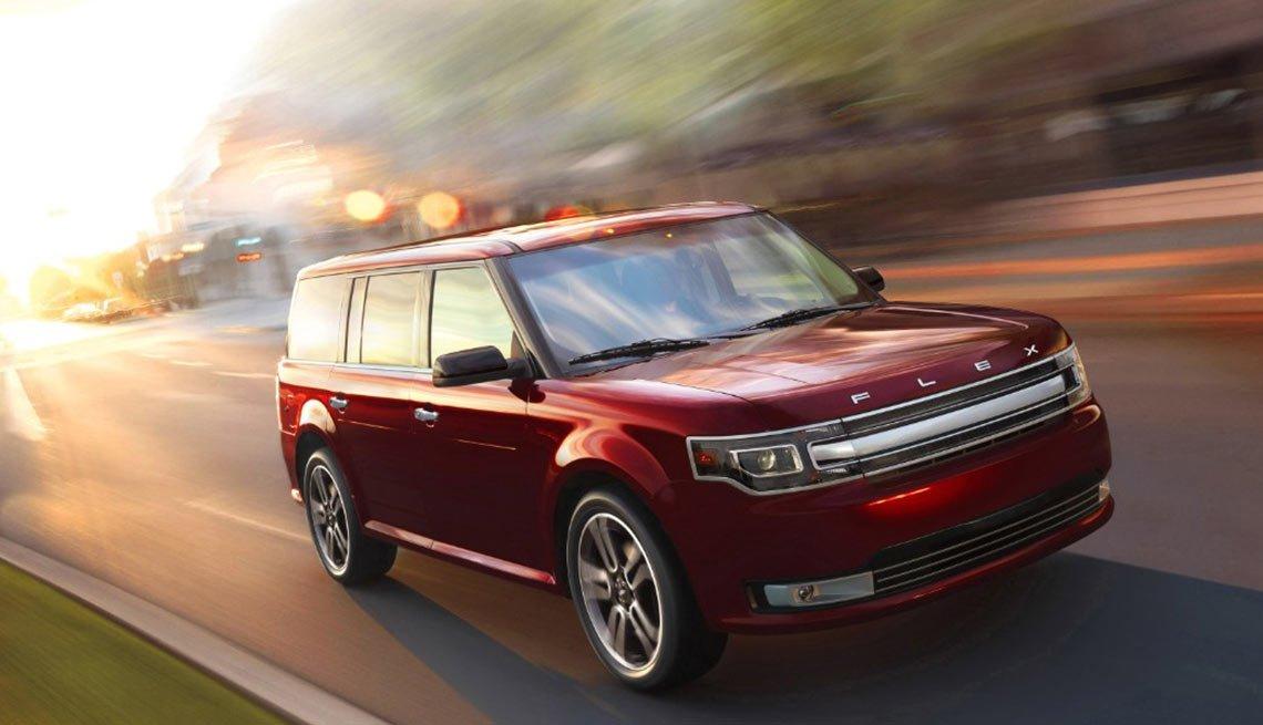 Autos excelentes para alquilar en tus viajes - Ford Flex