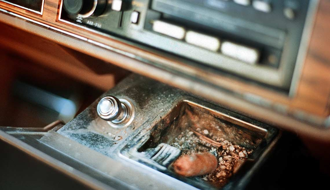 Remember When Cars Had These - ashtrays
