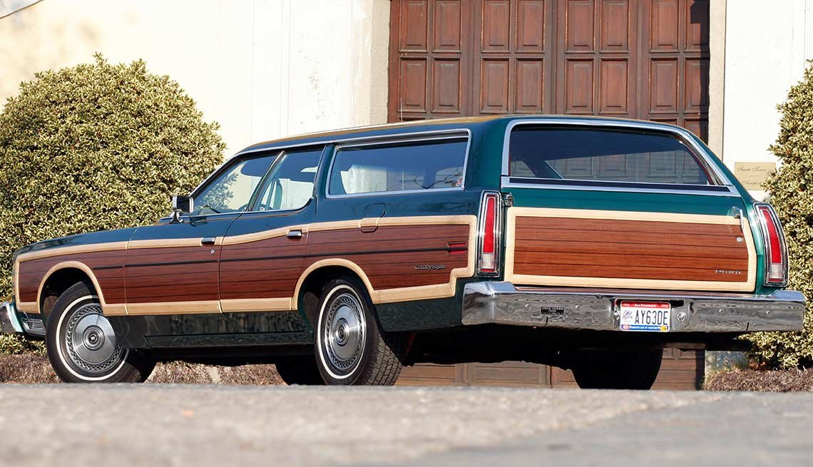 Remember When Cars Had These - Wood-grain side paneling