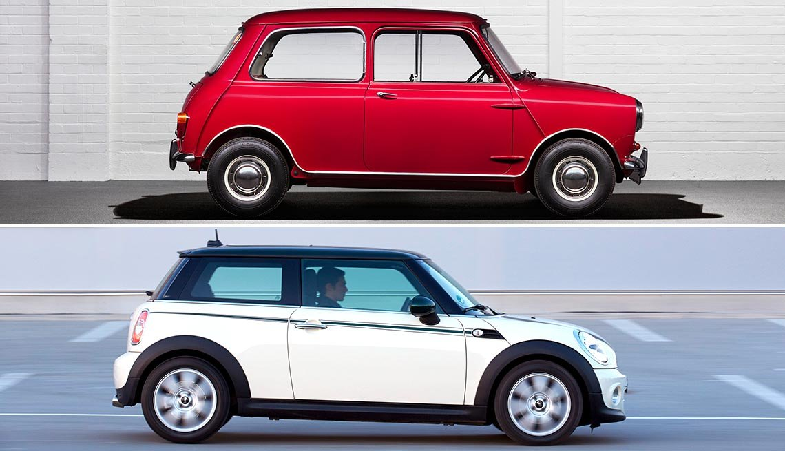 Classic Cars Then and Now -  Mini Cooper
