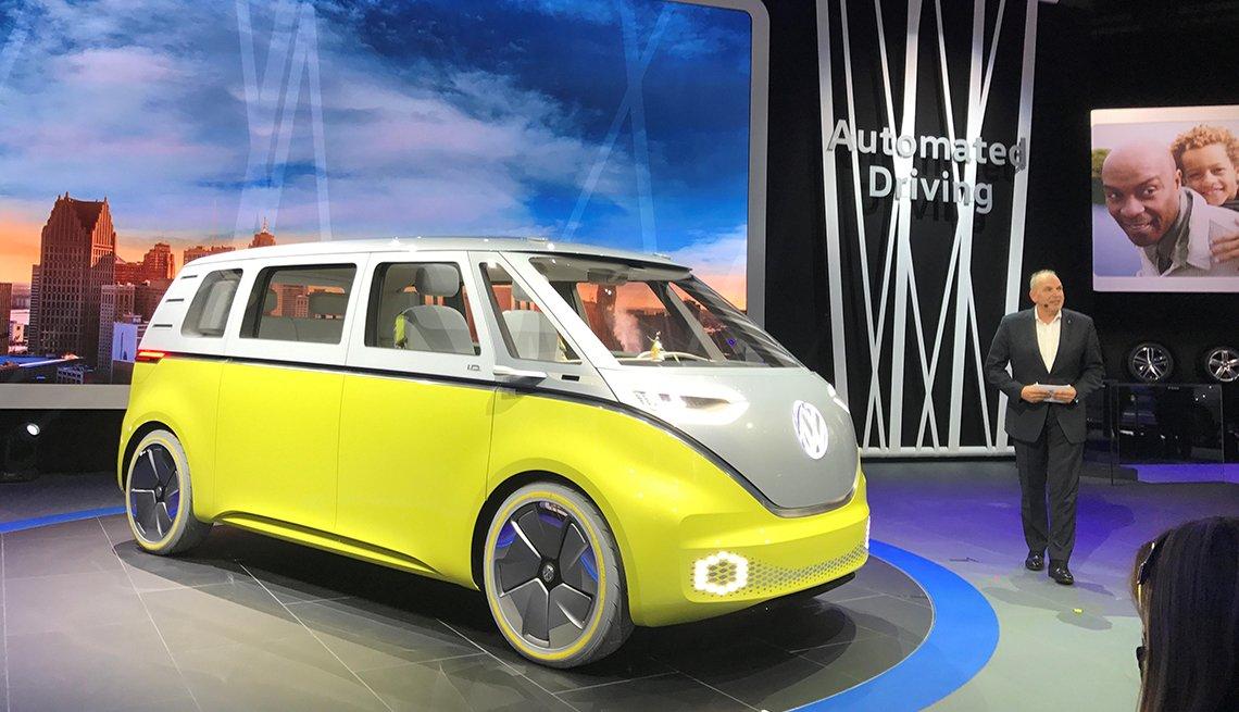 Autos de la exposición Detroit 2017