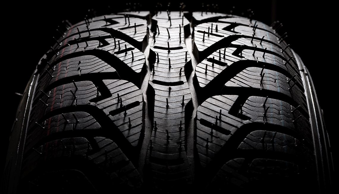item 8 of Gallery image - auto safety checklist - tire tread