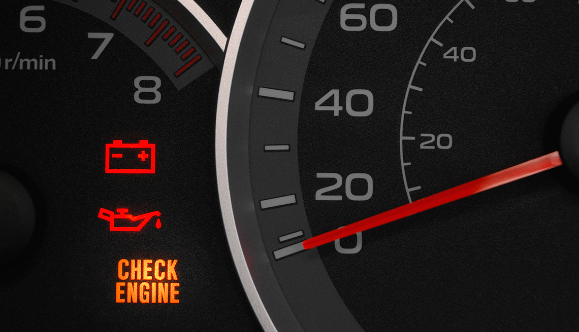item 6 of Gallery image - auto safety checklist - warning lights