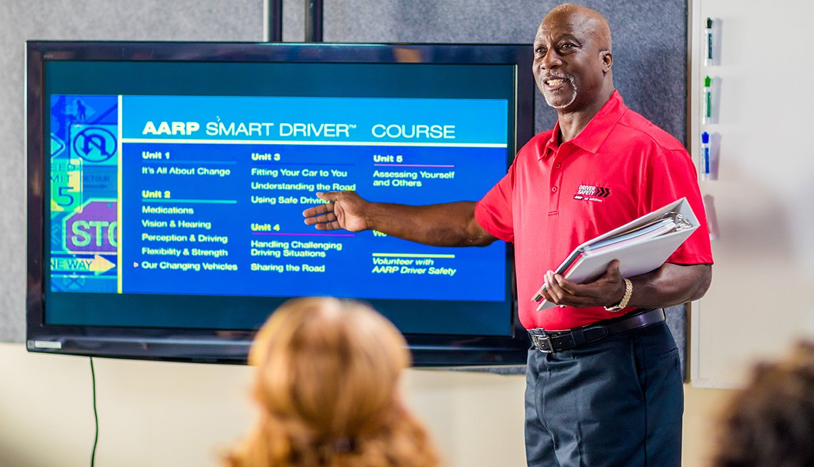 AARP Driver Safety host an event