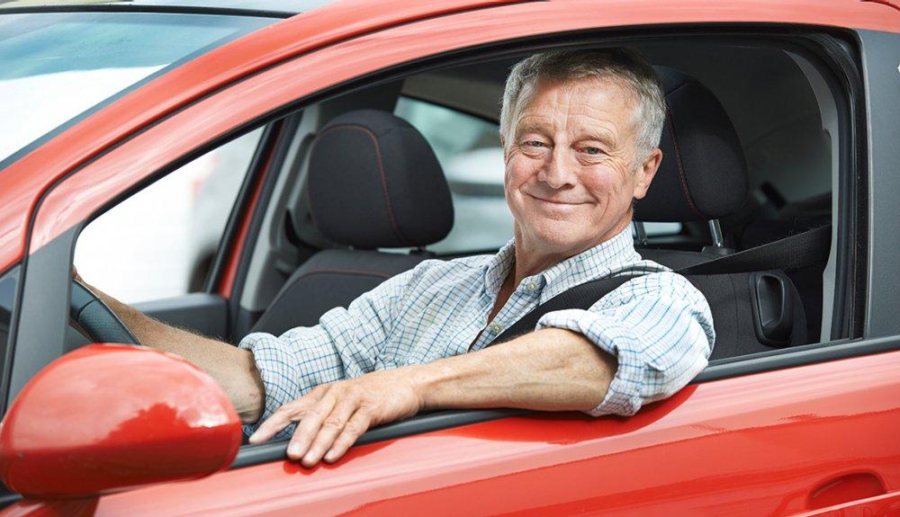 elderly drivers license renewal test