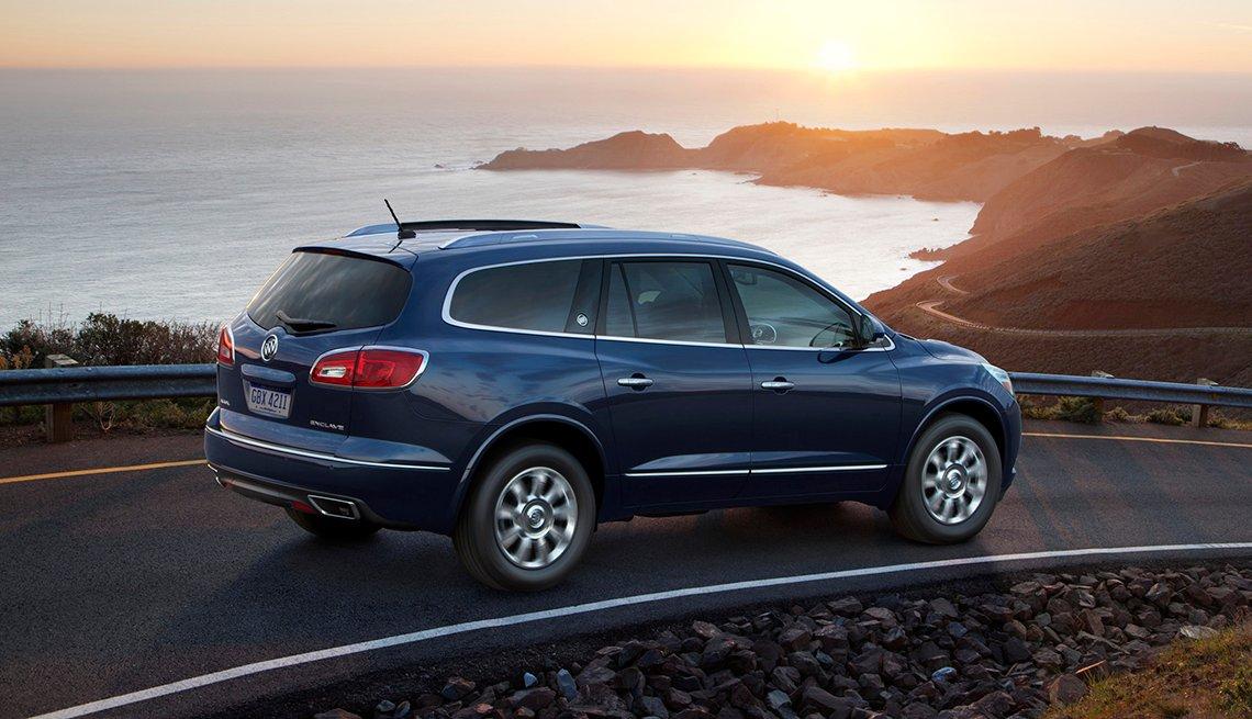 2017 Buick Enclave - Los mejores autos para viajar en la carretera