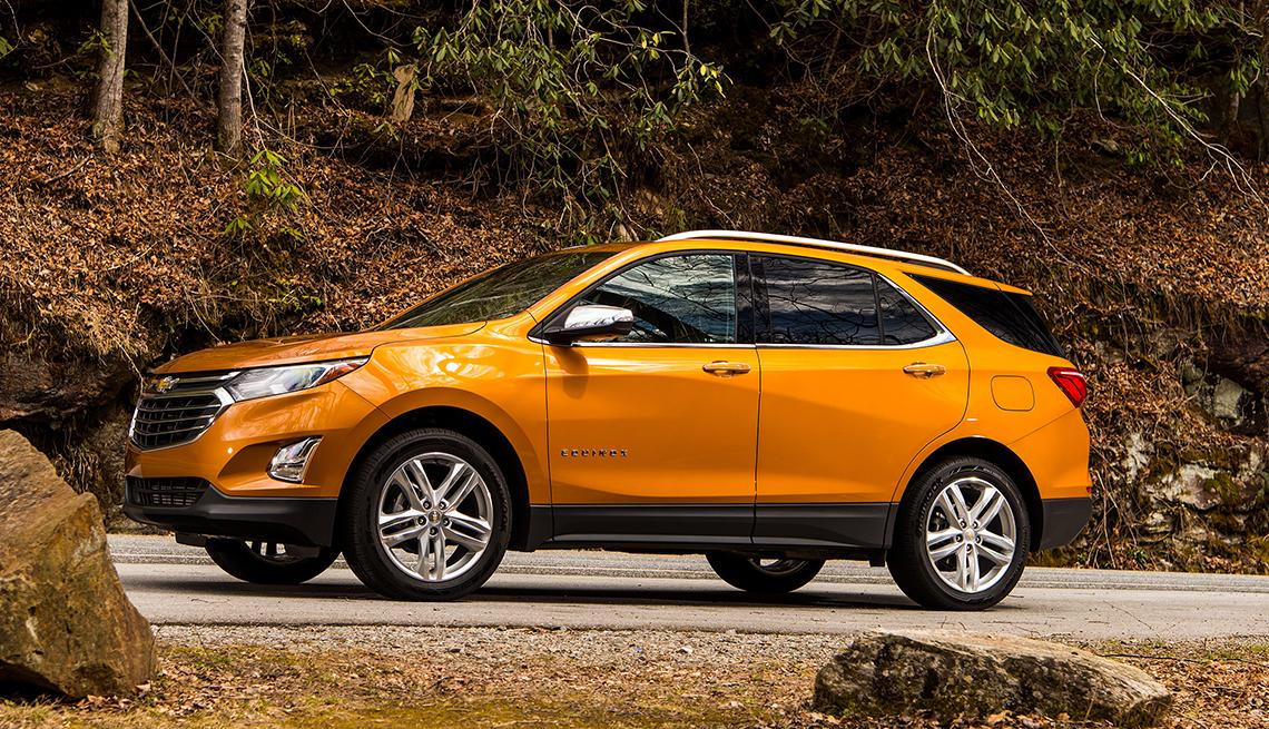 2018 Chevrolet Equinox - Los mejores autos para viajar en la carretera