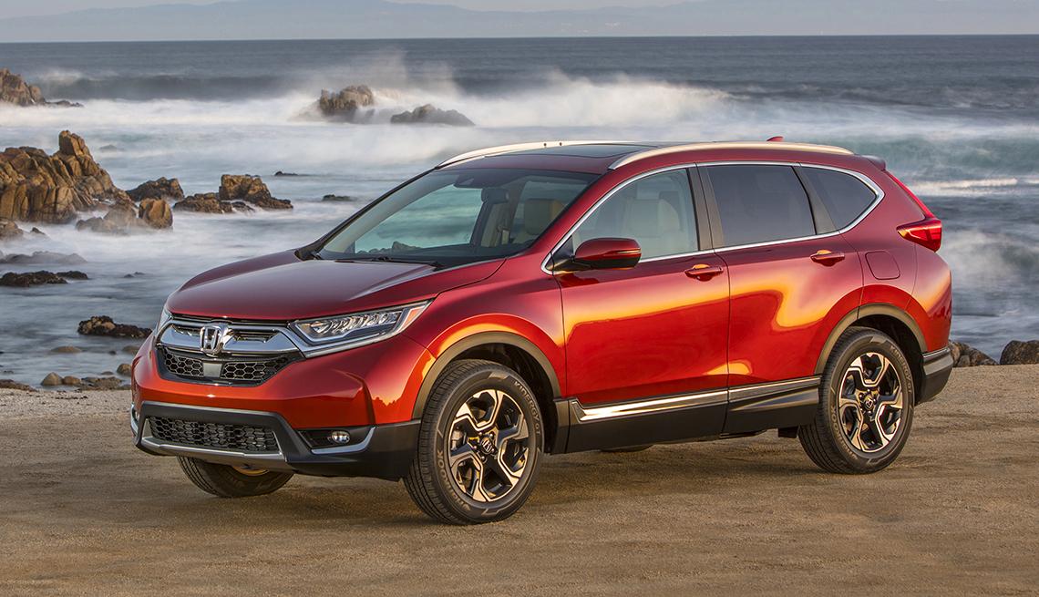 2017 Honda CRV - Los mejores autos para viajar en la carretera