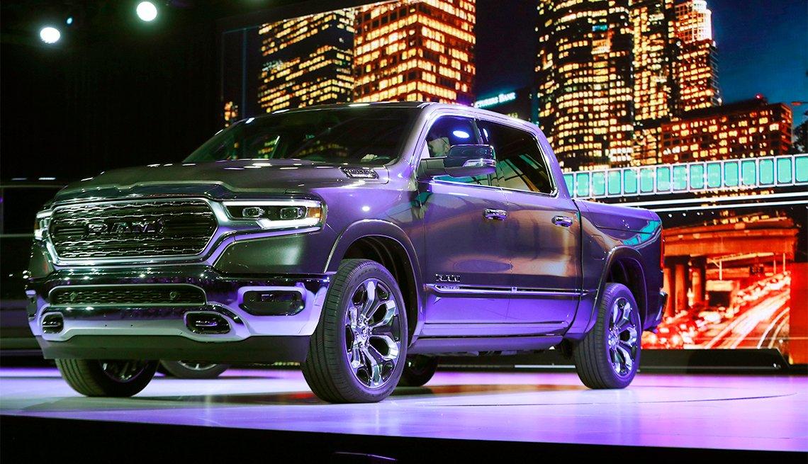 Dodge Ram 1500 en el Autoshow de Detroit