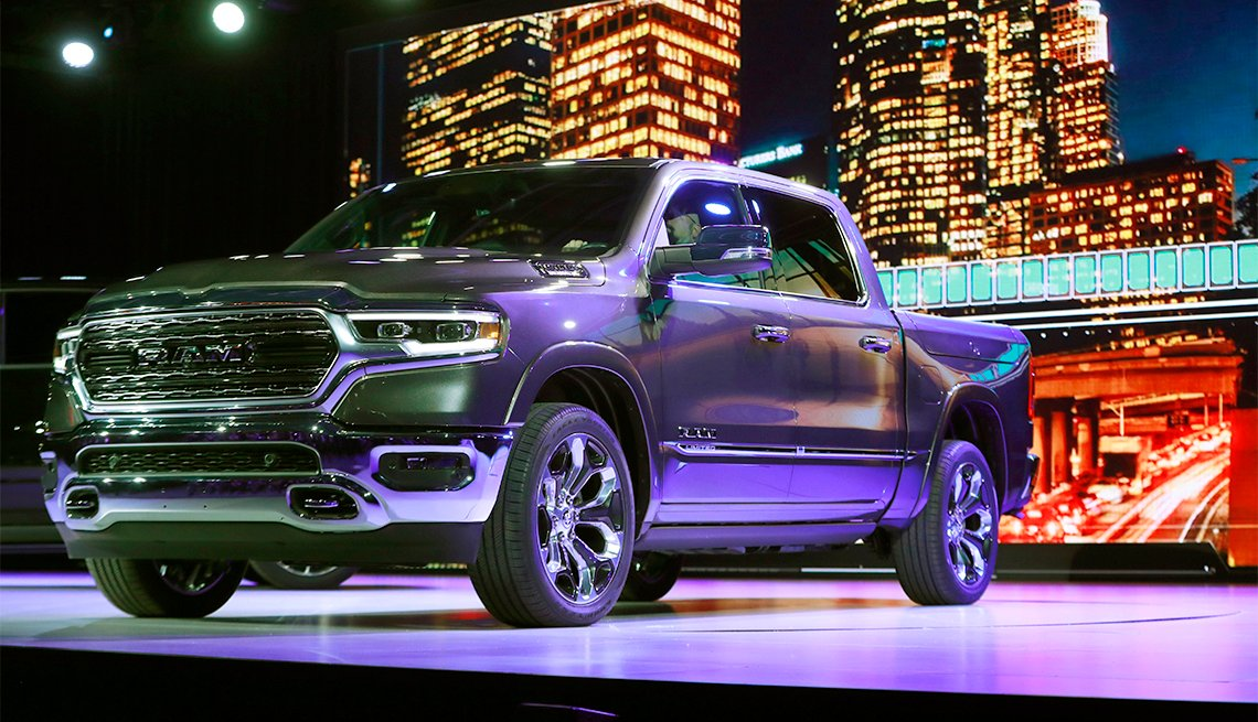 The Dodge Ram 1500 Truck at the North American International Auto Show