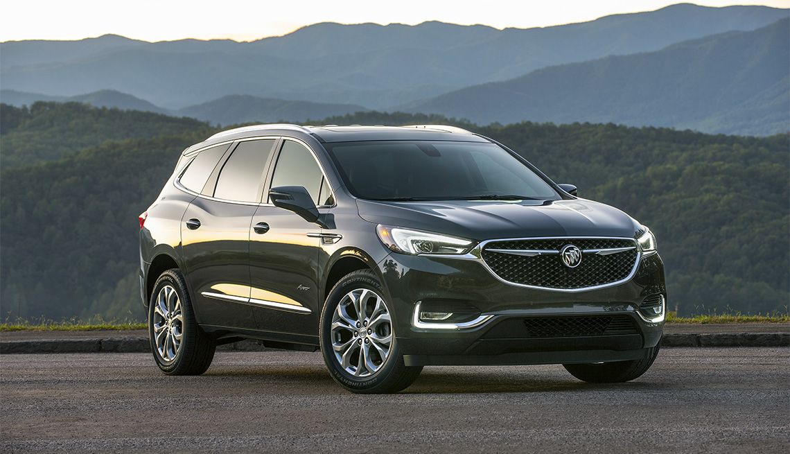 item 8 of Gallery image - 2018 Buick Enclave Avenir outdoors in countryside