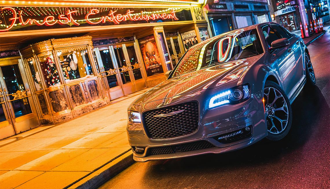 item 2 of Gallery image - 2018 Chrysler 300S urban scene at night