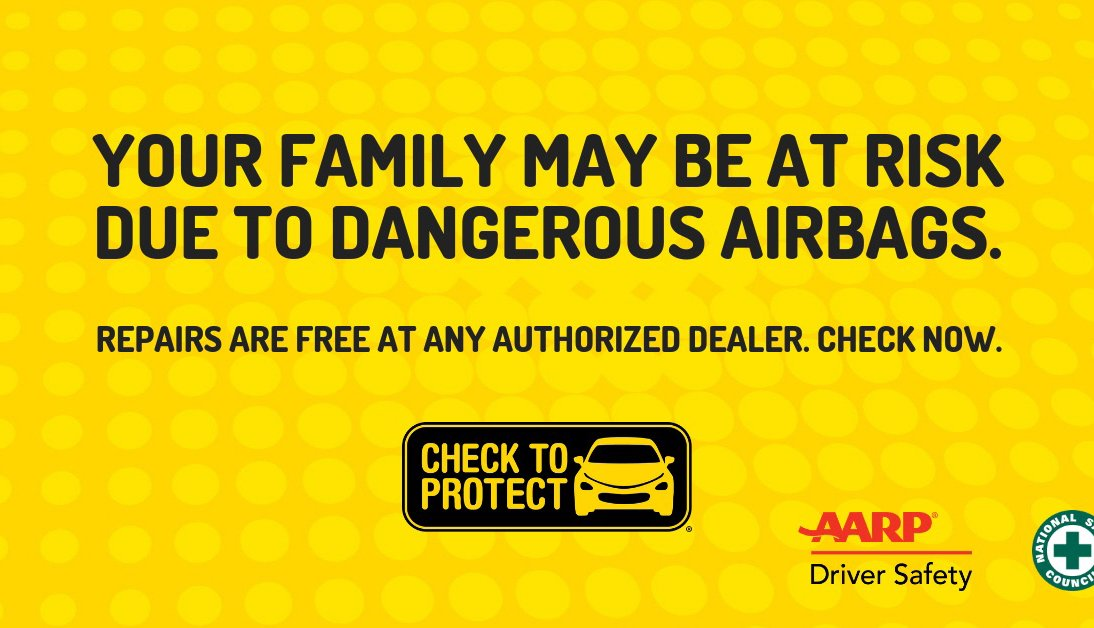 AARP Driver Safety Airbag Check