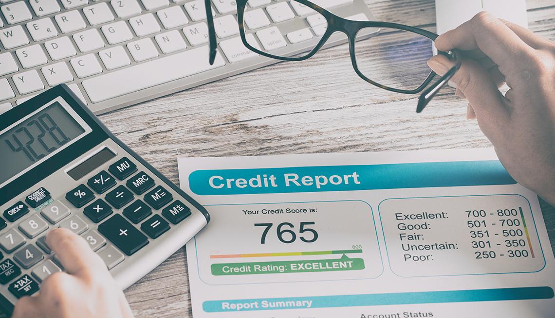 credit report rating