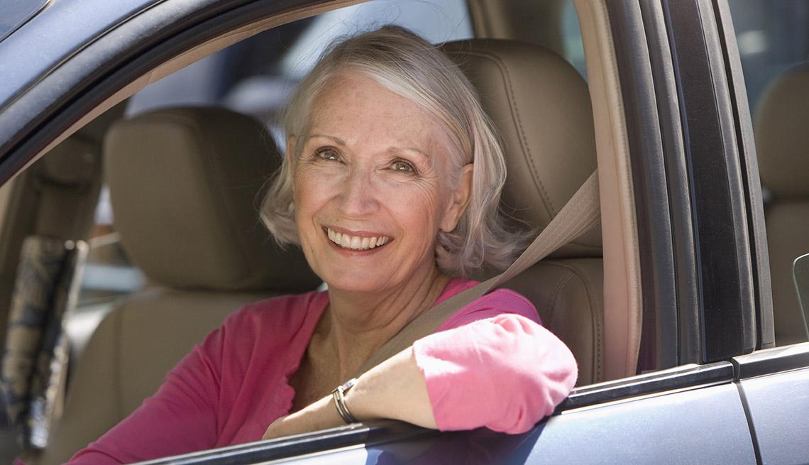 older female driver