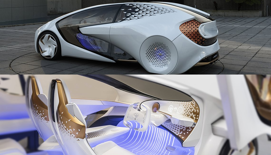 item 12 of Gallery image - Toyota Concept I - Futuristic vehicle