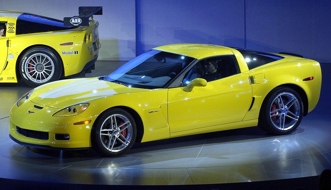 item 6, Gallery image. Generación C6: Corvette modelo 2006, de Chevrolet