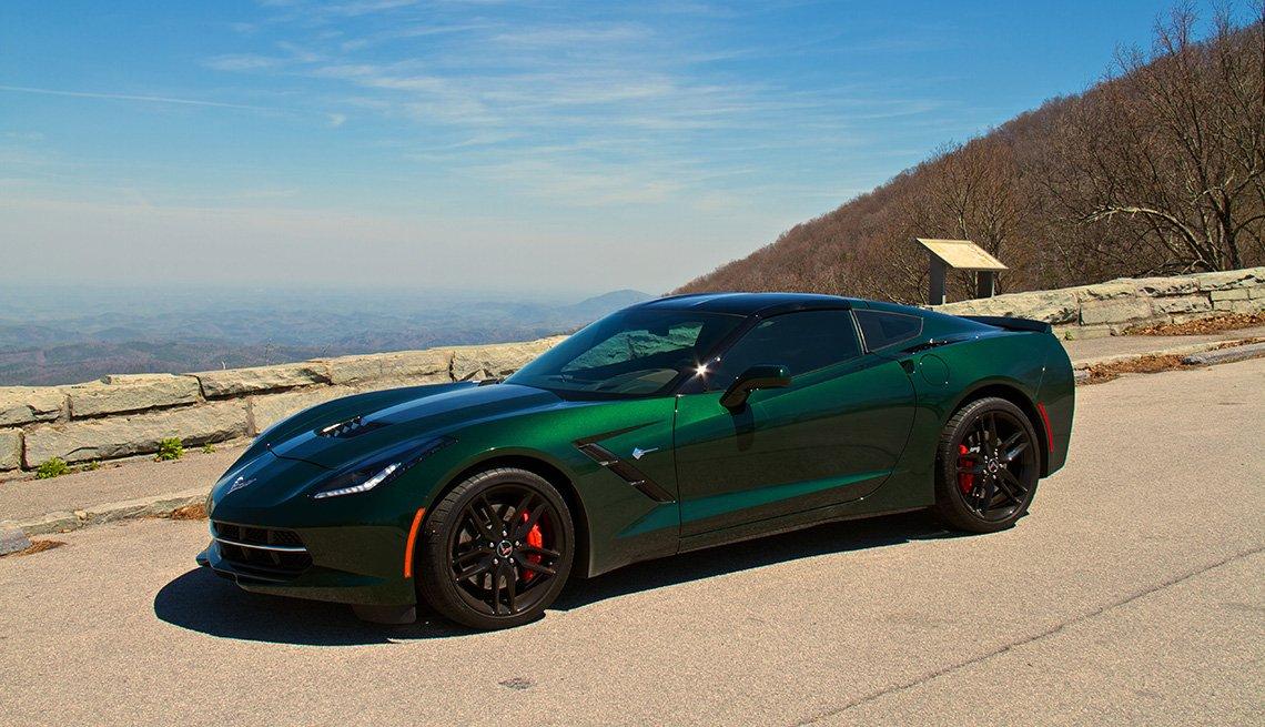 item 7, Gallery image. Generación C7: Corvette modelo 2014, de Chevrolet