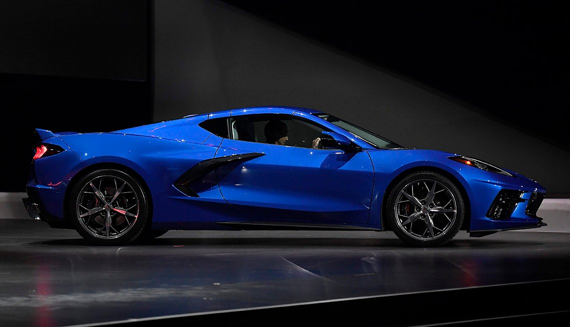 Chevrolet Reveals New Design For Corvette C8 Generation