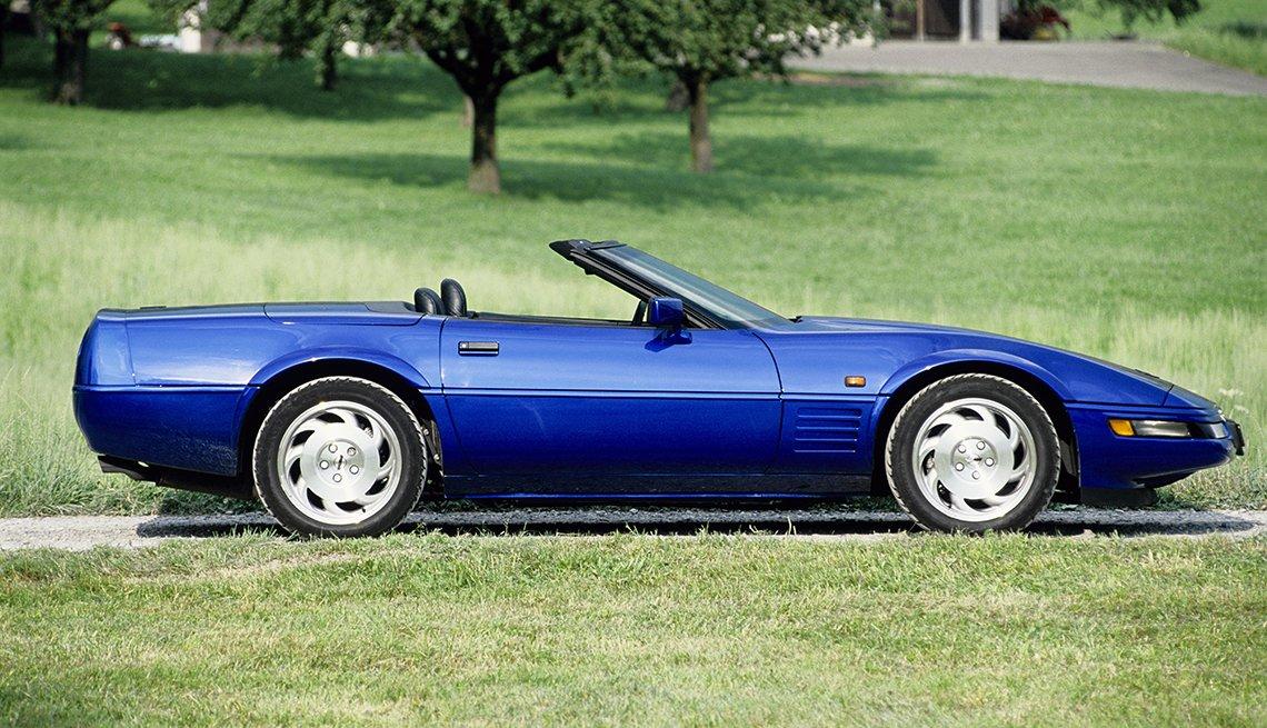 item 4, Gallery image. Generación C4: Corvette modelo 1994, de Chevrolet