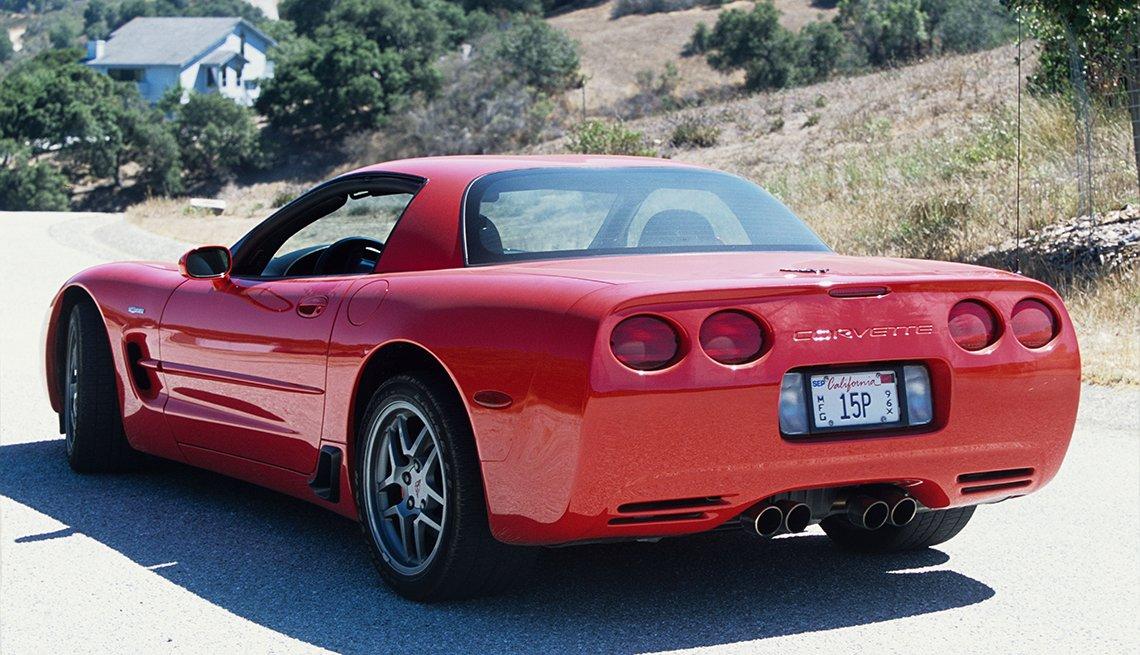 item 5, Gallery image. Generación C5: Corvette modelo 2001, de Chevrolet