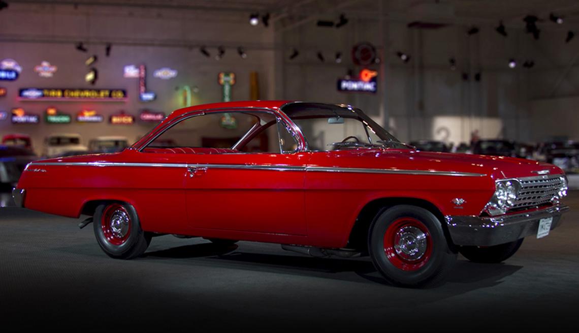 item 1 of Gallery image - 1962 red Chevrolet Bel Air