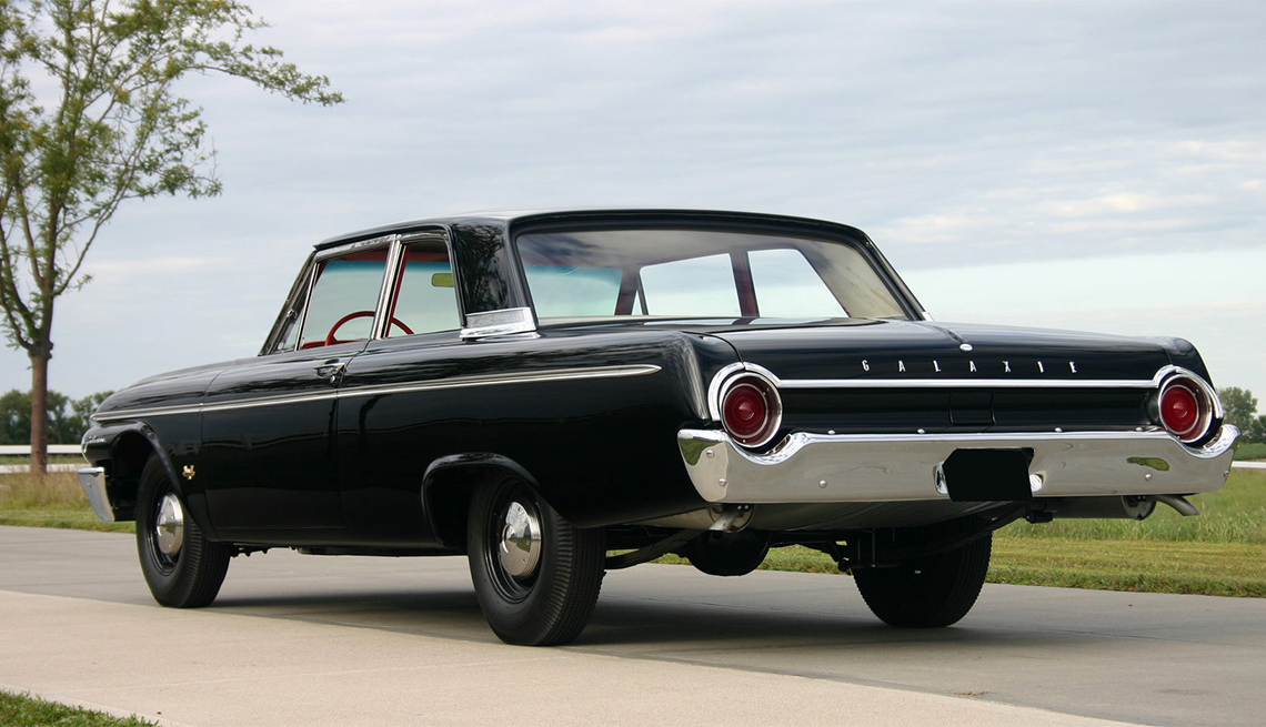 item 2 of Gallery image - 1962 black Ford Galaxie