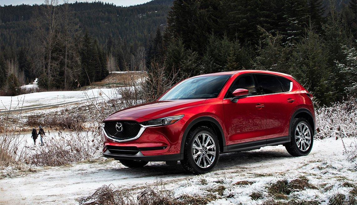 2020 red Mazda CX5