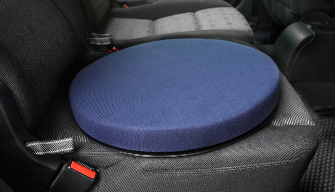 item 3 of Gallery image - swivel cushion in a car for those with a disability