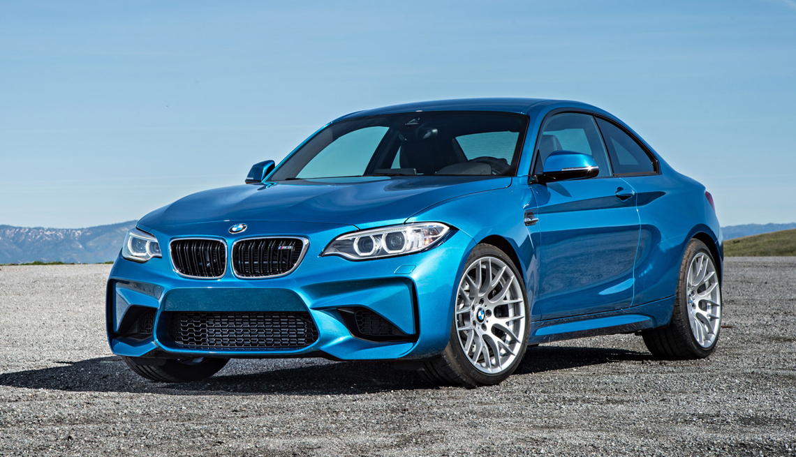 item 2 of Gallery image - blue BMW M2