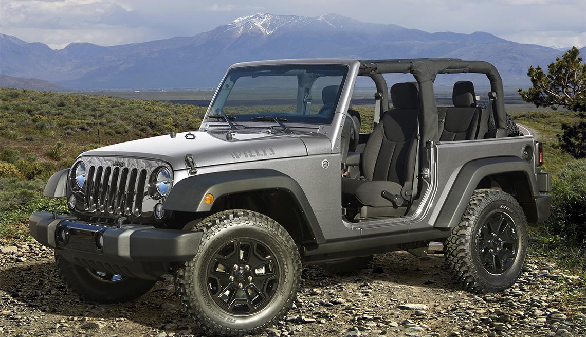 item 6 of Gallery image - Jeep Wrangler Willys Wheeler Edition de color gris