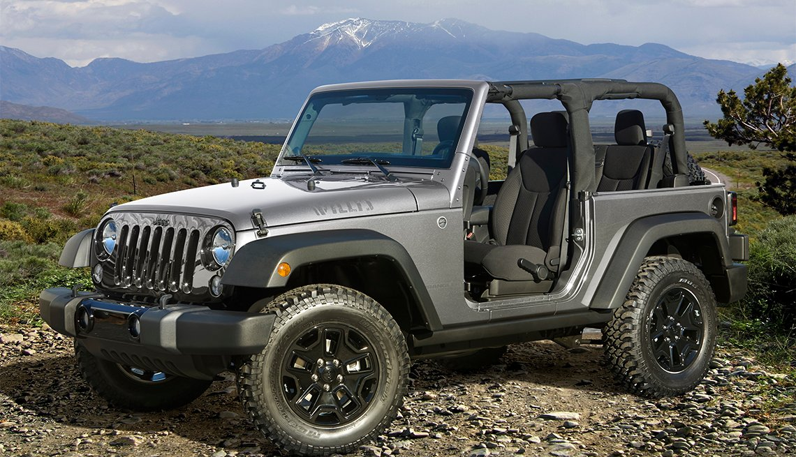 item 6 of Gallery image - 2016 Jeep® Wrangler Willys Wheeler Edition