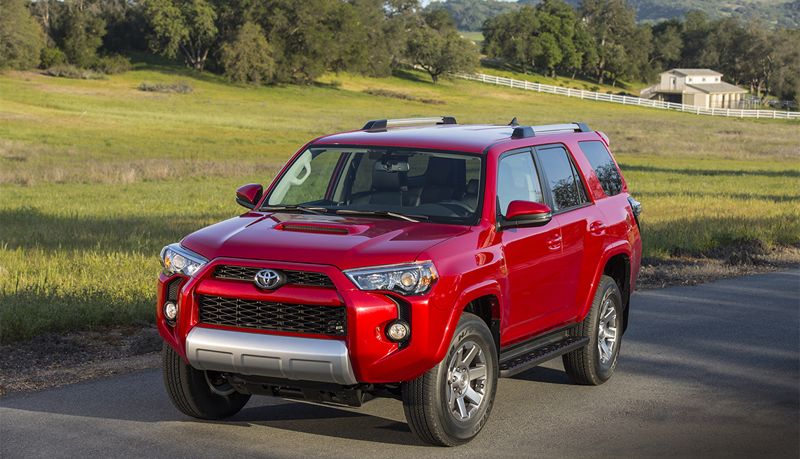 item 4 of Gallery image - red Toyota 4Runner