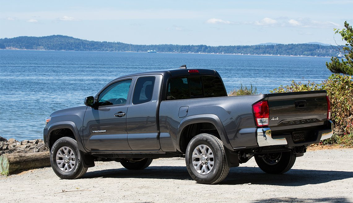 item 1 of Gallery image - gray Toyota Tacoma