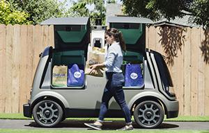 Kroger self driving car