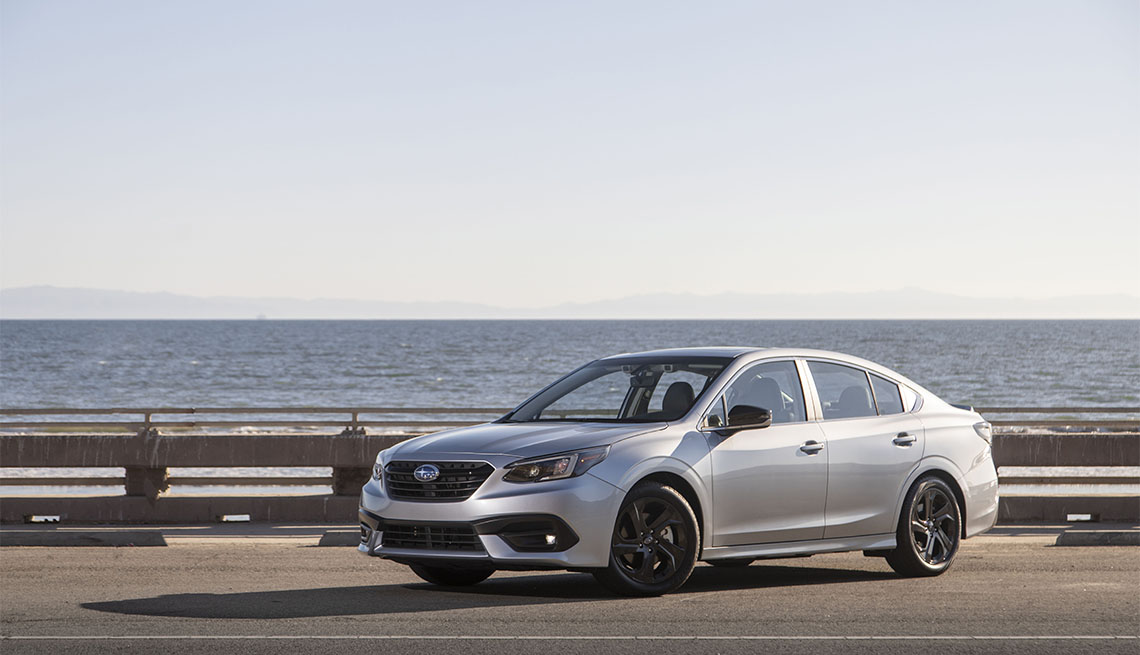 item 7 of Gallery image - silver 2020 Subaru Legacy
