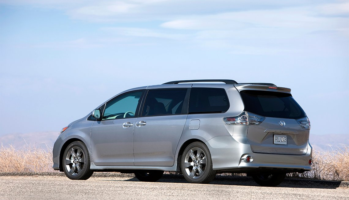 silver Toyota Sienna