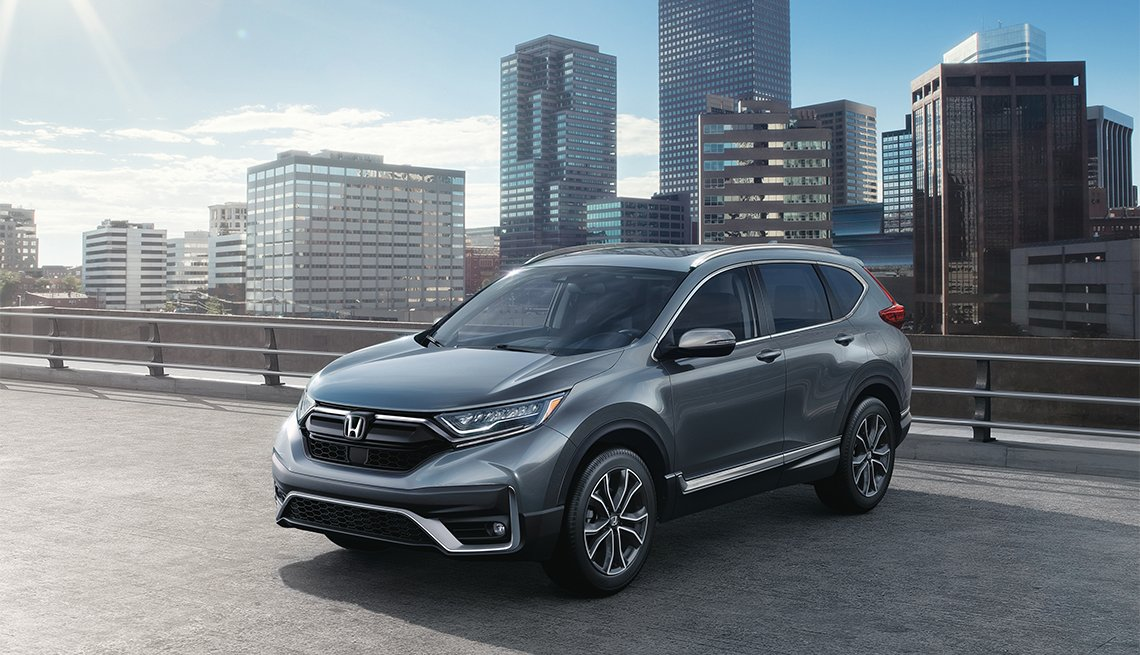 2020 gray Honda CR-V Touring