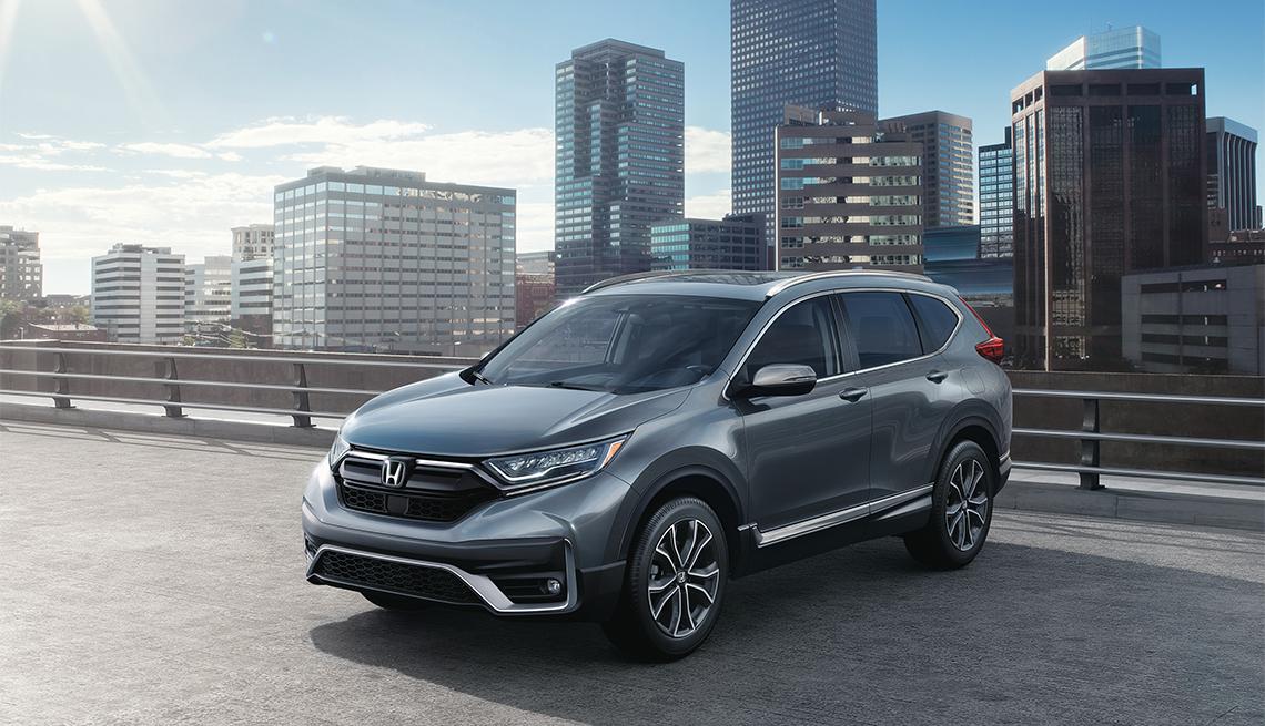 item 2 of Gallery image - 2020 gray Honda CR-V Touring