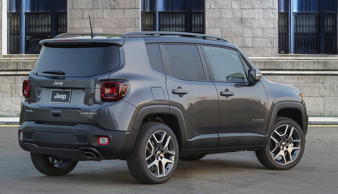 item 9 of Gallery image - 2020 gray Jeep Renegade Limited