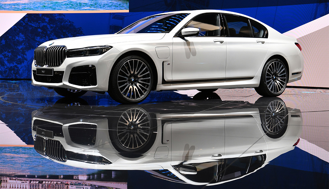 A BMW 7 Series